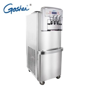 Factory wholesale 227kg Cube Ice Maker - Double System Ice Cream Making Machine – Guangshen Electric detail pictures