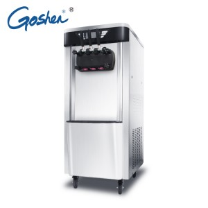 Stainless Steel Soft Ice Cream Machine for sale