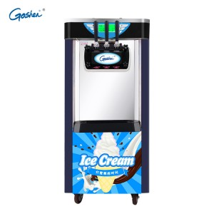 Factory Price For J Shape Ice Cream Machine -