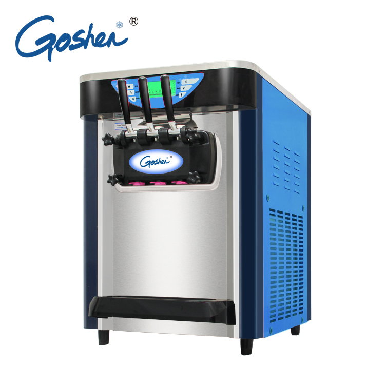 High Quality Easy Move Small Fruit Mix Ice Cream Machine